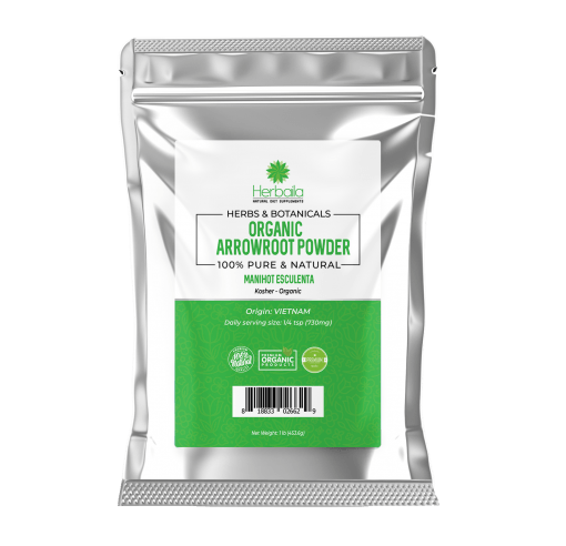 Herbaila Arrowroot Powder