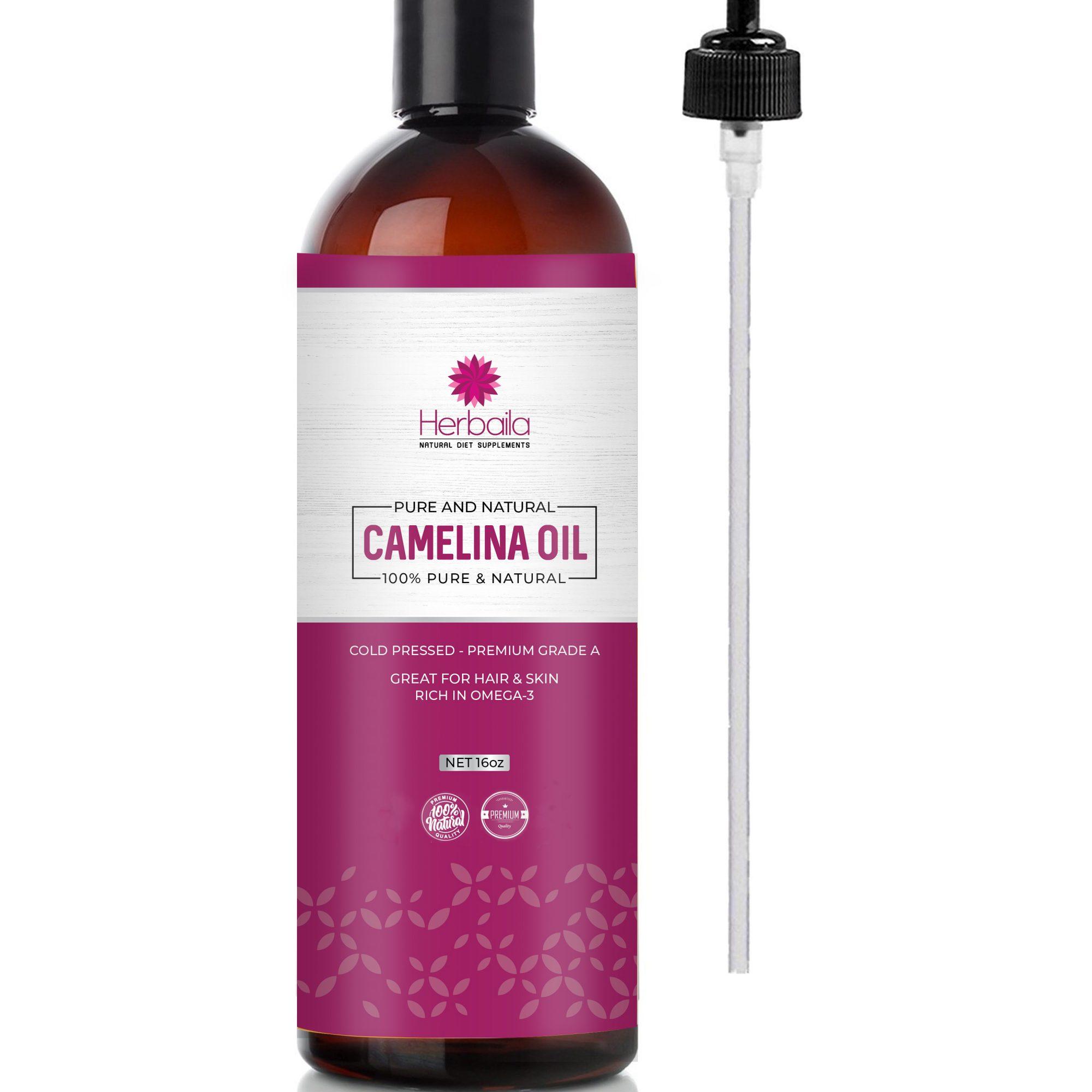 Herbaila Camelina Oil